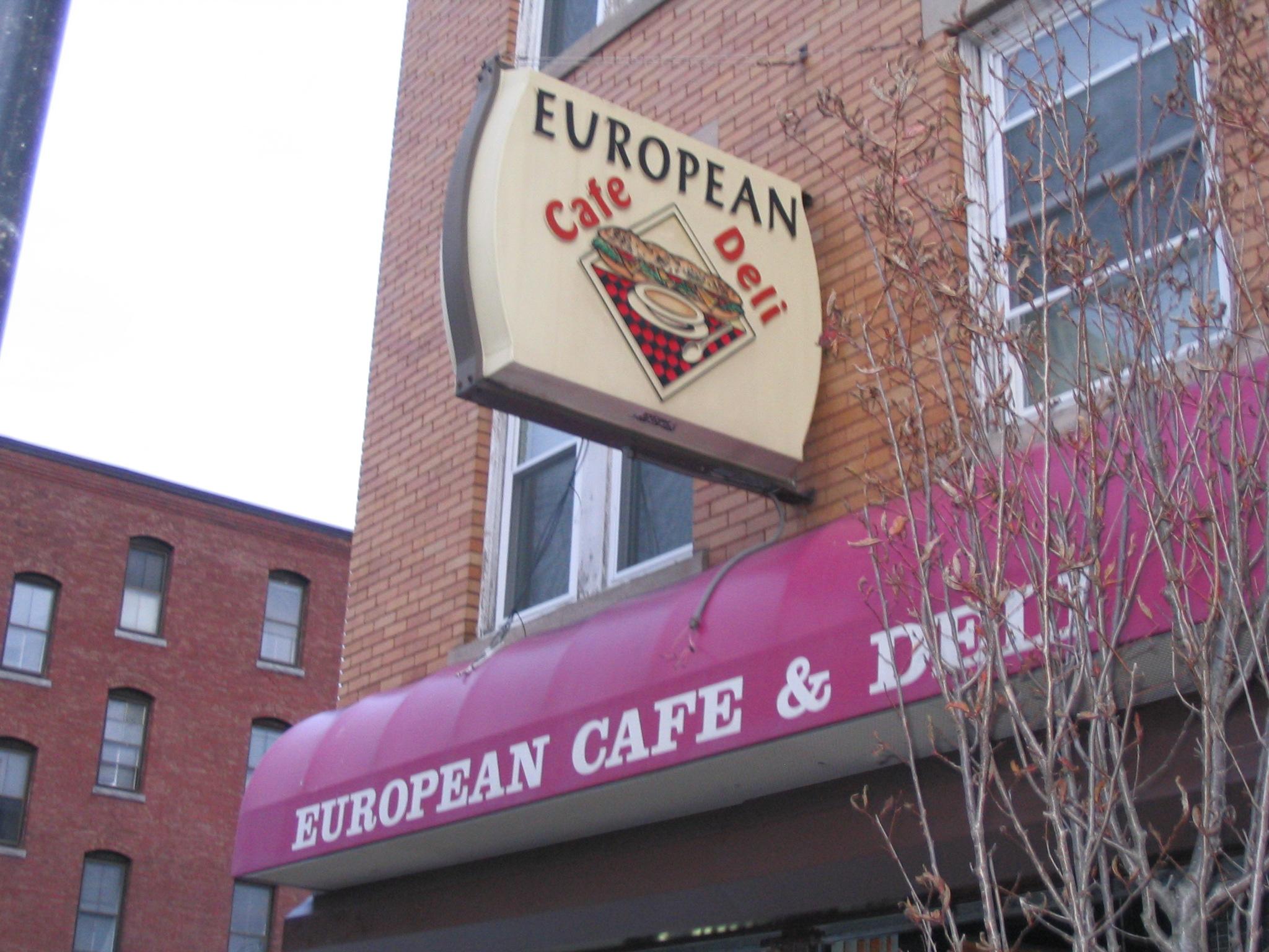 European Cafe Deli Worcester Ma