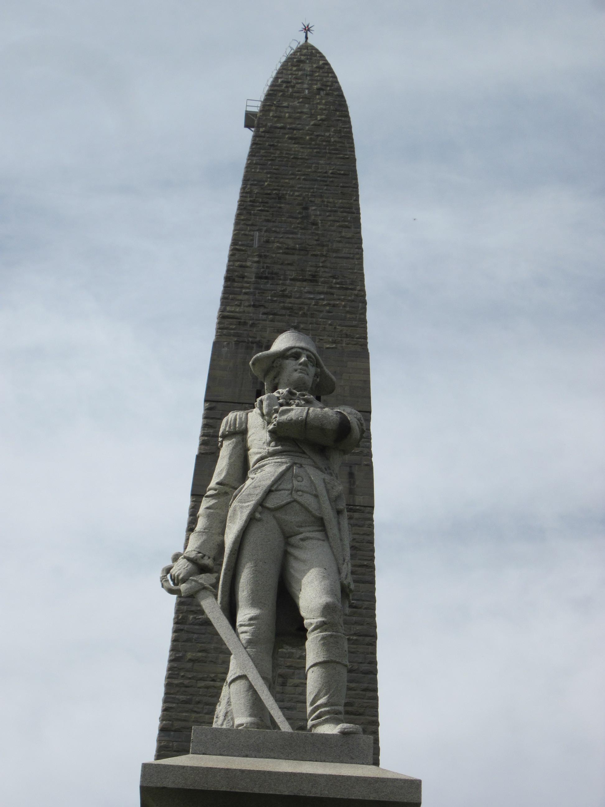 The Battle Monument in Bennington